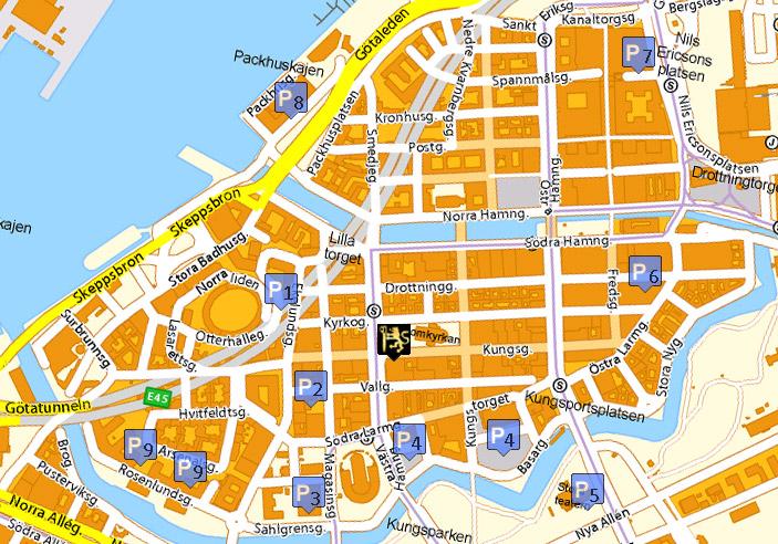 göteborgs centrum karta